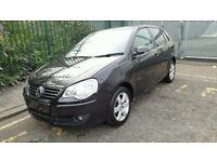 Volkswagen Polo match 60, 2009-year 5 door, black for sale