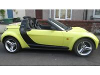 \\\\SMART ROADSTER////CONVERTIBLE\\\YELLOW////LEATHER SEATS\\\CHEAP TO RUN///