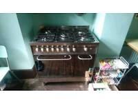 Baumatic Double Oven Dual Fuel Range Cooker
