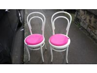 Two Upcycled Chairs for Sale £10 each or £15 for both