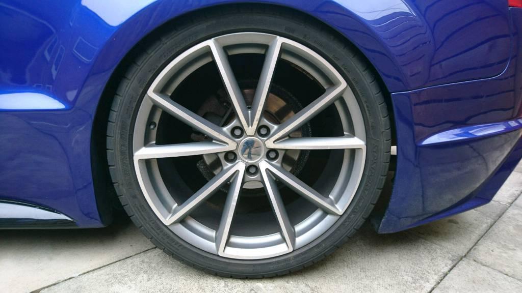 20 inch Audi RS5 wheels