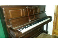 Upright piano - good condition and free