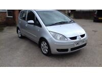 DIESEL MITSUBISHI COLT 1.5 CC & FULL SERVICE HISTORY AND NEW MOT