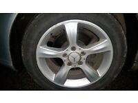 Mercedes alloy wheels alloys 5x112 205/55/16