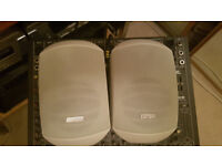 """APART Mask-4TW loud speakers,4.25"""",PAIR, with wall brackets,brand new,NO OFFERS"""