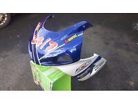 Suzuki gsxr fairings