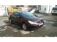 Peugeot 307 cc for sale. Mob 07756158990