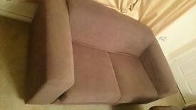 Two seater sofas x 2