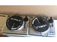 Vestax PDX 2000 direct drive turntables