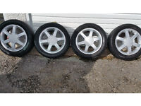 Ford Genuine 16 '' alloy wheels + 4 x tyres