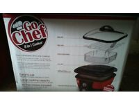 go chef 8 in 1 cooker £25