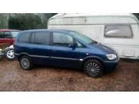 Vauxhall zafira 7 seater 2005