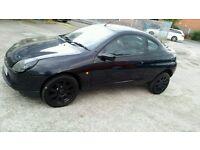Ford Puma 1.6 3dr. MOT'd. Black Alloys, Bargain!!