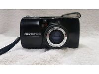 Olympus mju 105 collectable weatherproof zoom 35mm film rangefinder camera lomo retro pre digital
