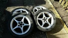 Toyota Celica Alloy Wheels. 5x100