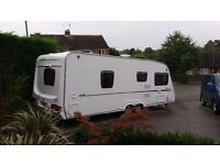 Sterling Europa 620 Twin Axle End Bathroom Fixed Double Bed