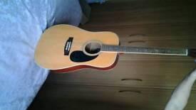 VINTAGE Acoustic guitar - Model no. E400