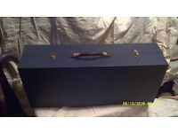 ALTO SAXOPHONE in DEEP METALLIC BLUE ? ?and in a BLUE CASE ! KEYWORK is SILVER ++++++++++