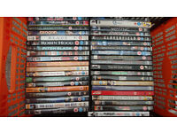 DVD Job Lot - Ideal for collector or car booters. Approx 100+ quality films plus some PC/PS games