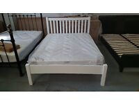 BRAND NEW John Lewis Wilton Bed Frame White Small Double (Mattress NOT included)