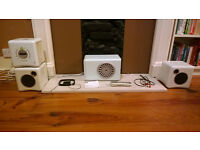 Ministry of Sound MOSMC018 Cube Micro FM/AM/DAB/CD/MP3 Hi-Fi with Subwoofer