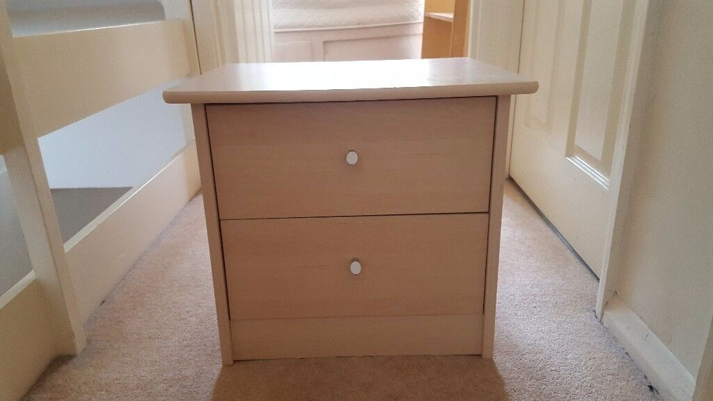 Small bedside table with 2 drawers. | in Pembury, Kent | Gumtree