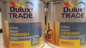 Dulux varnish for sale