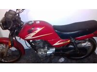 For sale Honda cg 125 red
