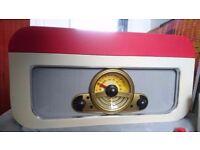 Steepletone RICO Record CD Player/ Radio/ SD/USB