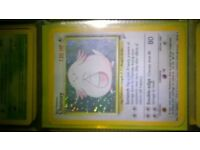 incompleate 1st series pokemon cards