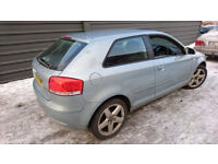 A3 8P 3 DOOR 2004 2.0 FSI CRYSTAL BLUE LY7R - SPARES PARTS REPAIR - PARTS FIT GOLF MK5 SKODA/SEAT