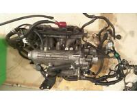 Honda civic d15b7 inlet manifold comes complete as you see