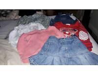 Bundle girl clothes 12-18 months Little Rocha, Little Bird, Next
