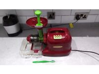 Matstone masticating juicer - perfect working order