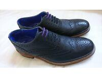 Ted Baker Men's Guri 7 Brogues Black Formal Shoes Size 9 UK