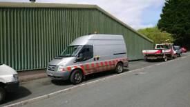 Transit generator compressor van