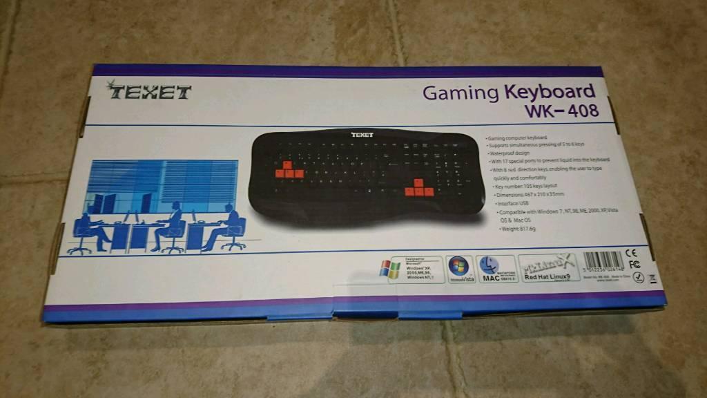 Gaming keyboards, surplus stock, boot fair stock, eBay stock
