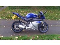 Yzf r 125 2014 new shape 16k