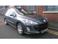 2008 Peugeot 308 1.6 VTi S 3dr Hatchback, 3 Months Warranty, 12 Months AA Breakdown, £1,695