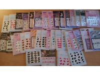 59 x Packs Nail Art nail decals/stickers new