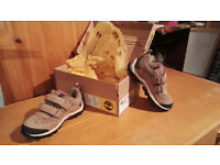 Timberland's girls trainers size 9 brand new in box