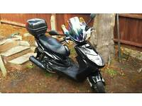 Yamaha cygnus x 125 2013 year low milage! First registered in 2015