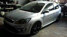 FORD FOCUS ST-2 2010 10 75k SILVER 3 DR PERFORMANCE MODS DRIVES AMAZIGLY