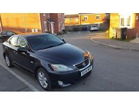 Lexus Is 220d black with black interior