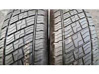 235 65 17 2 x tyres Westlake SU307