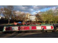 38ft Narrow Boat Sale in London