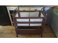 Arms Reach Baby Bassinet on wheels!