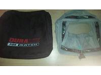 Fox double net bag and Maver keepnet