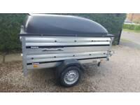 Car trailer Brenderup 1205/used 2 years old.