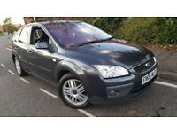 2006/06 Ford Focus Ghia 2.0 TDCI 136BHP 6G Full Black Leather Heated Seat Alloys